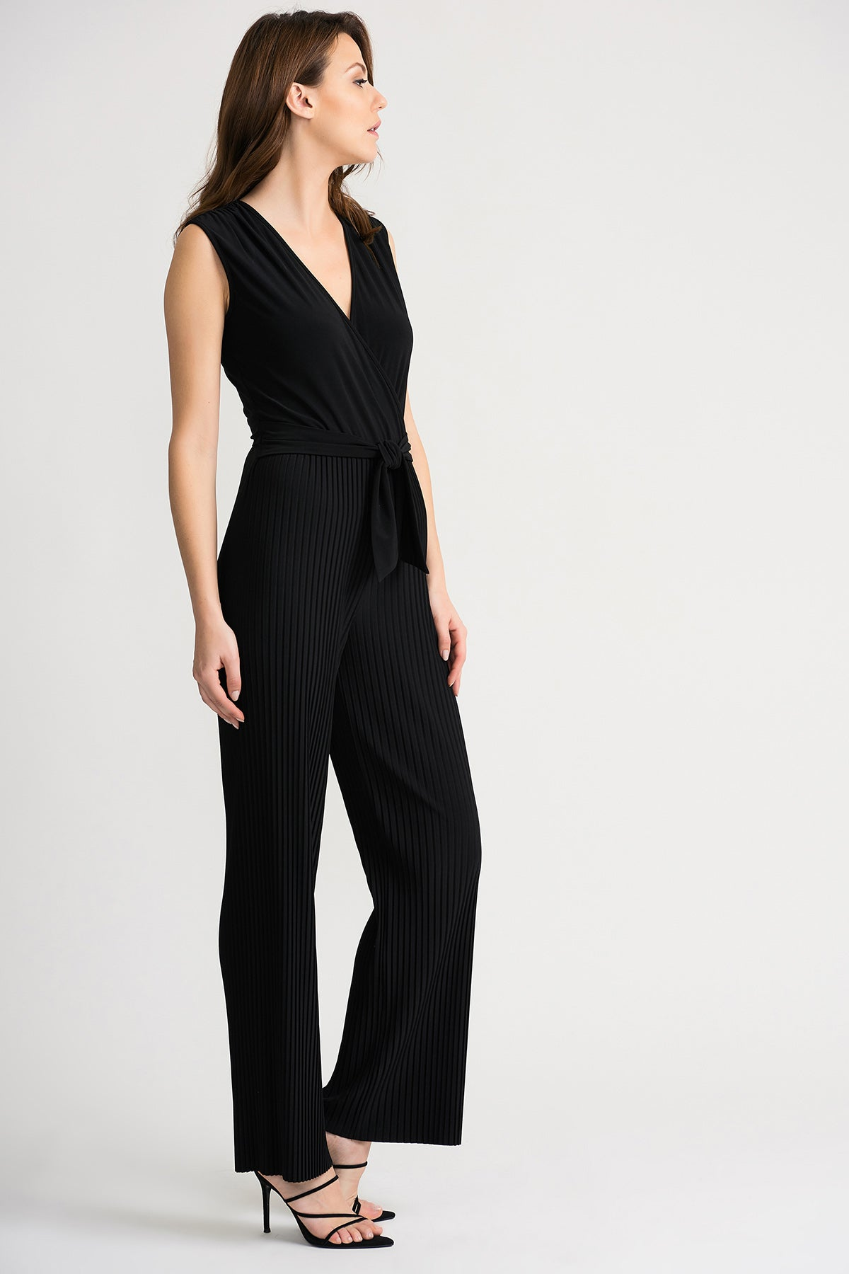 Pleated Pant Jumpsuit