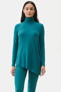 Cher Asymmetrical Turtleneck
