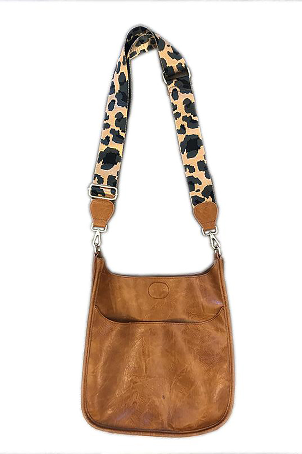 Crossbody with Leopard Strap