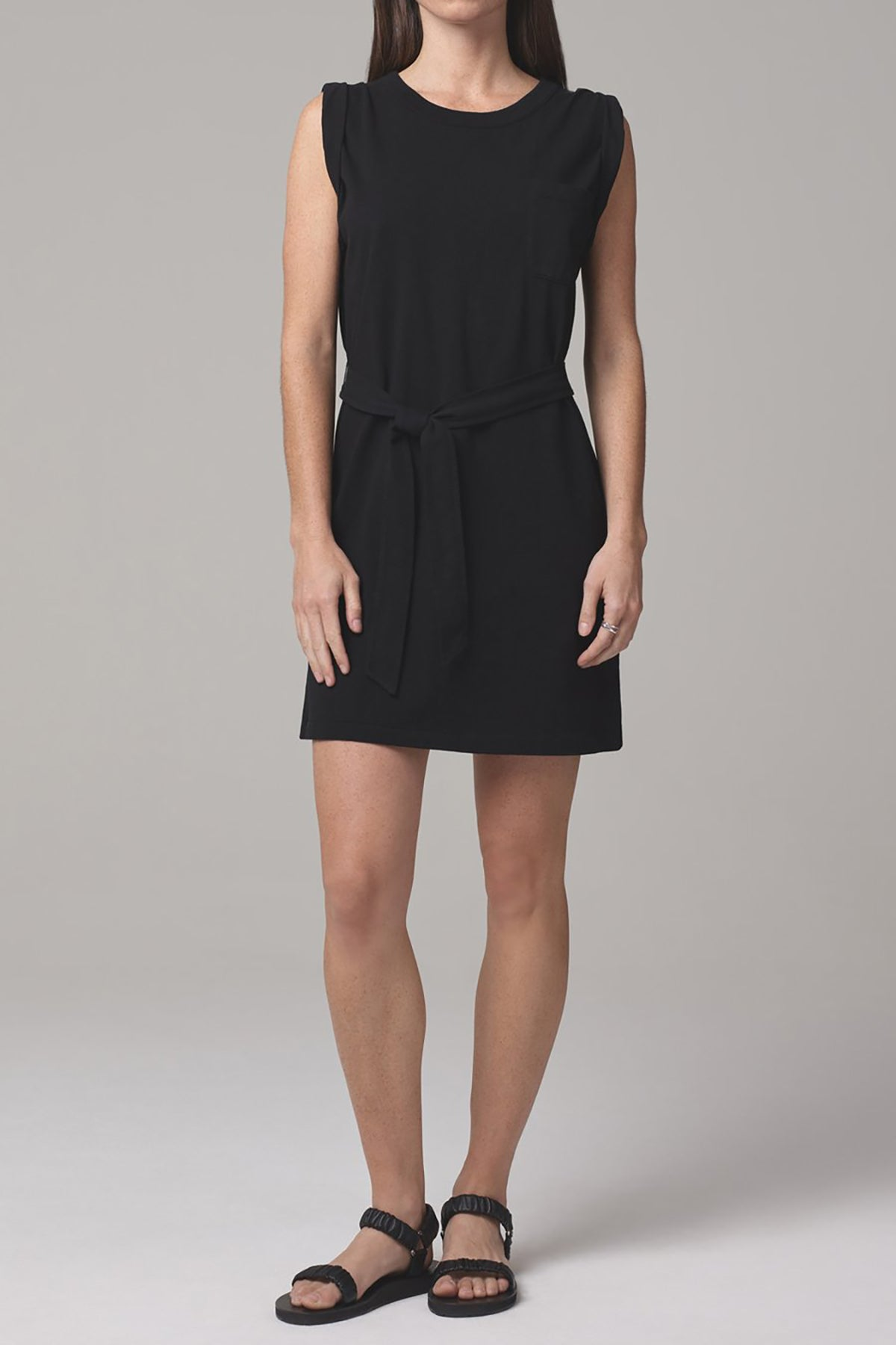 Jordana Rolled Sleeve Dress