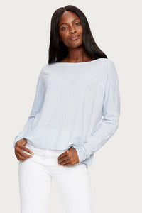 Bria Boatneck Top