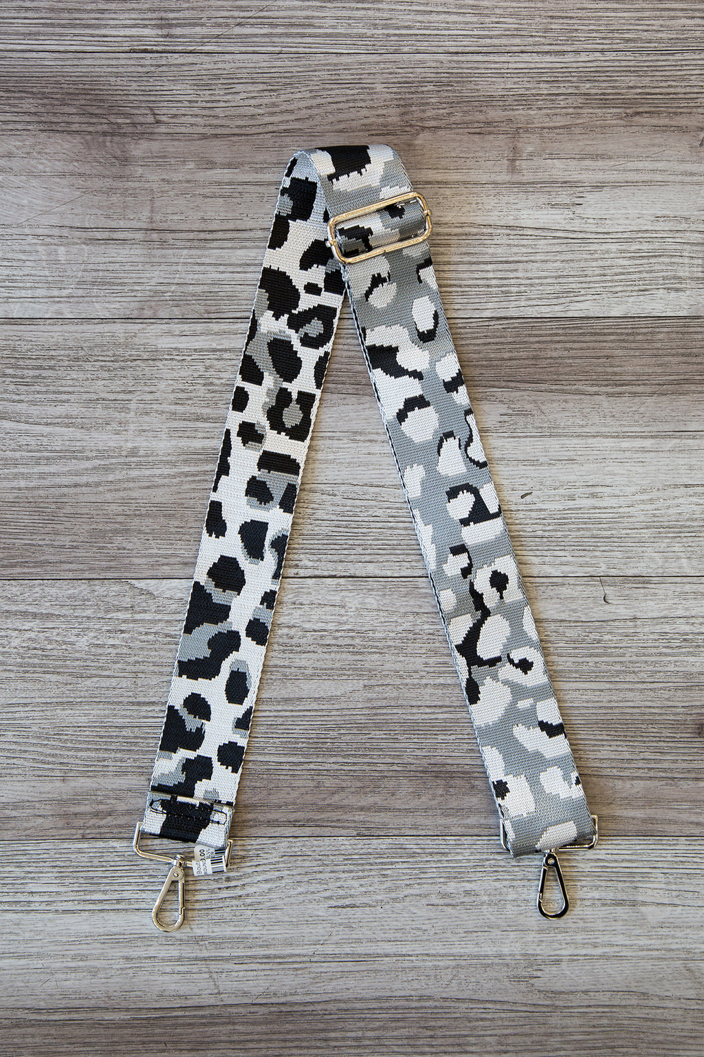 Ground Leopard Bag Strap