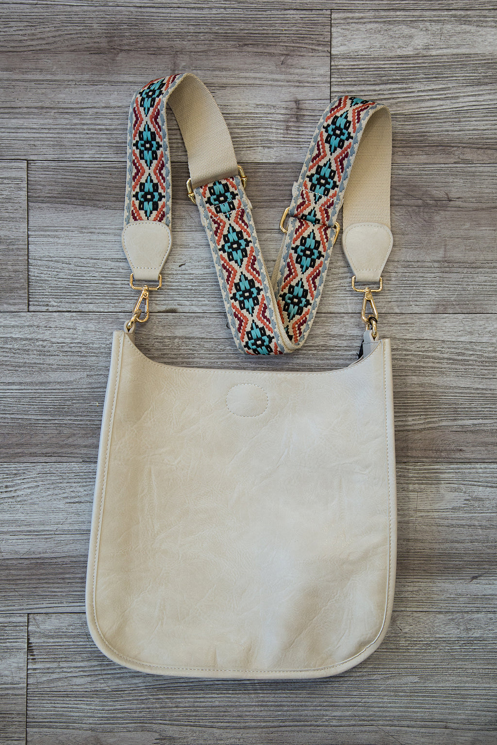 Vegan Leather Crossbody with Strap