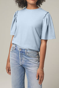Vera Gathered Shoulder Top