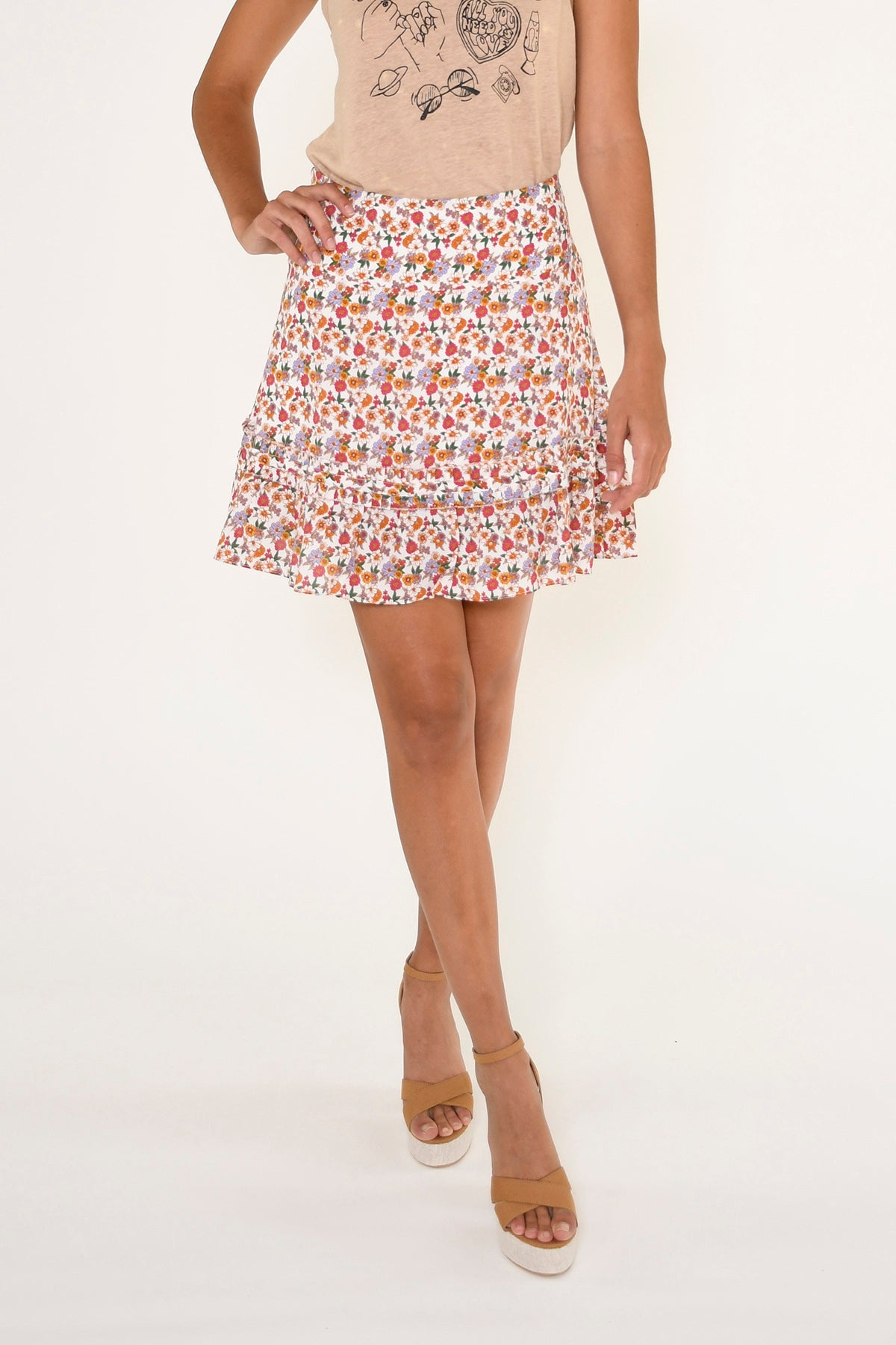 Sunshine Paradise Mini Skirt