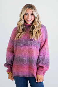 Boho Mix Sweater