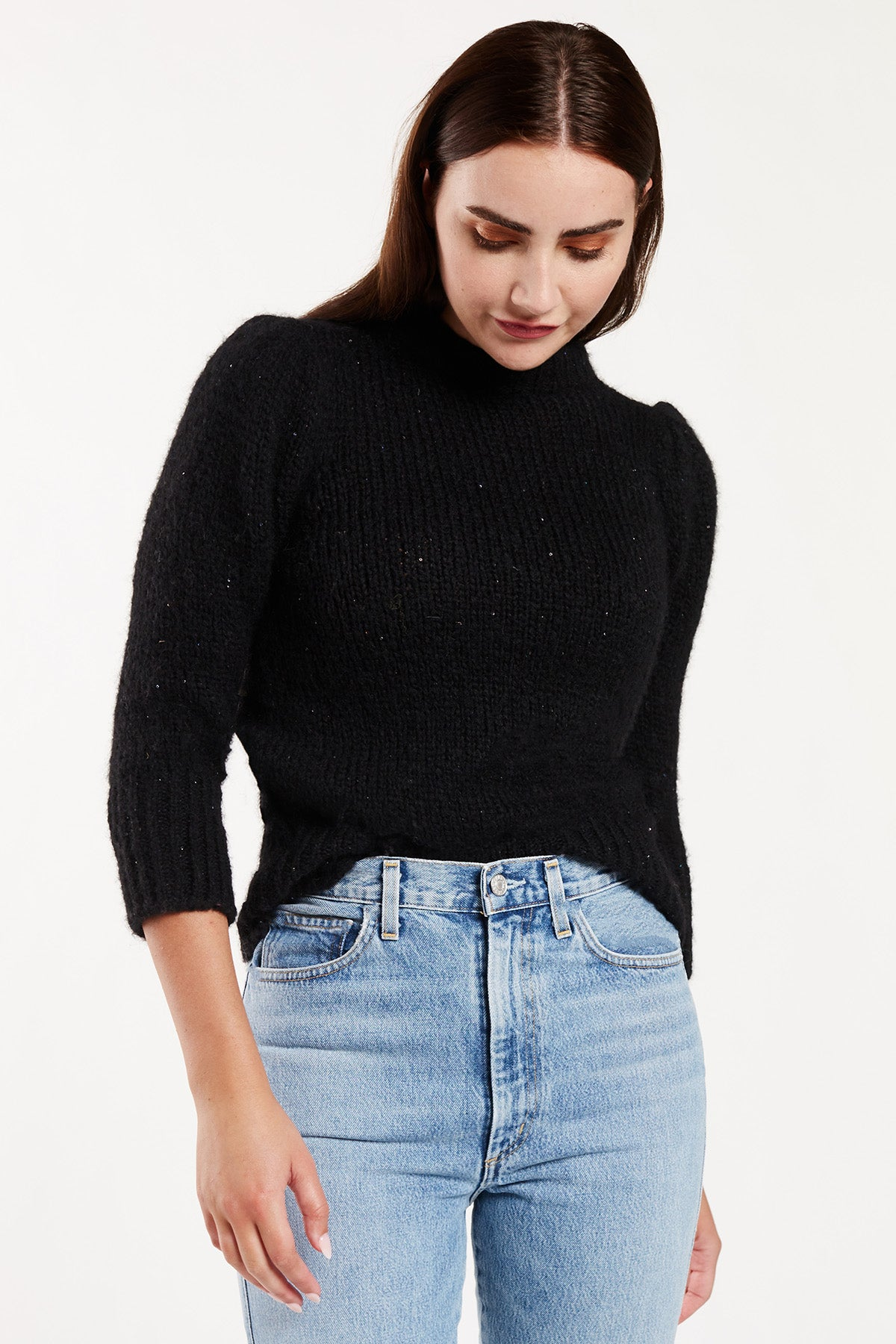 Camille Puff Sweater
