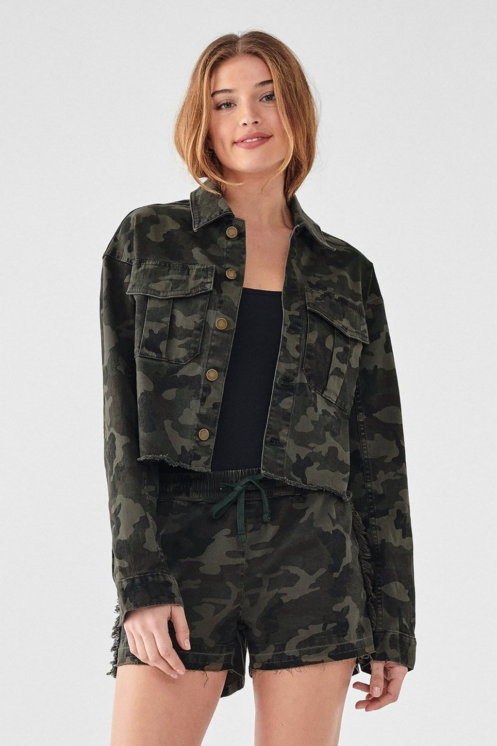 Annie Utility Cropped Jacket