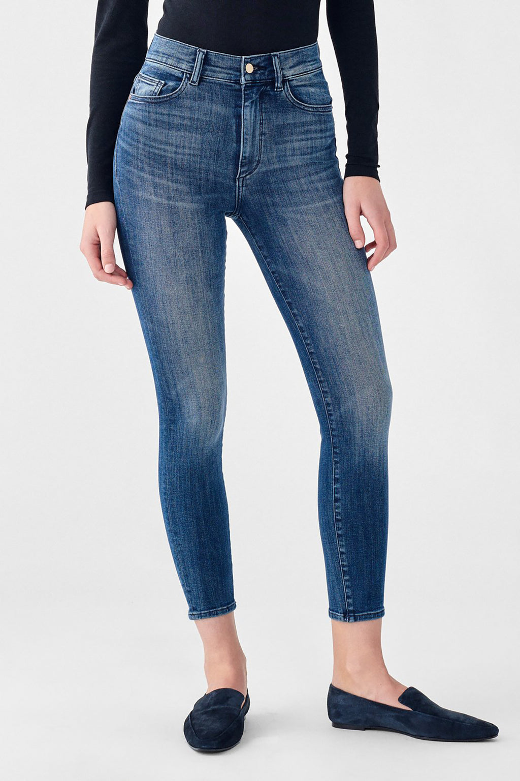 Farrow Crop High Rise Skinny