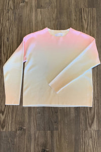 Ombre Ls Sweater