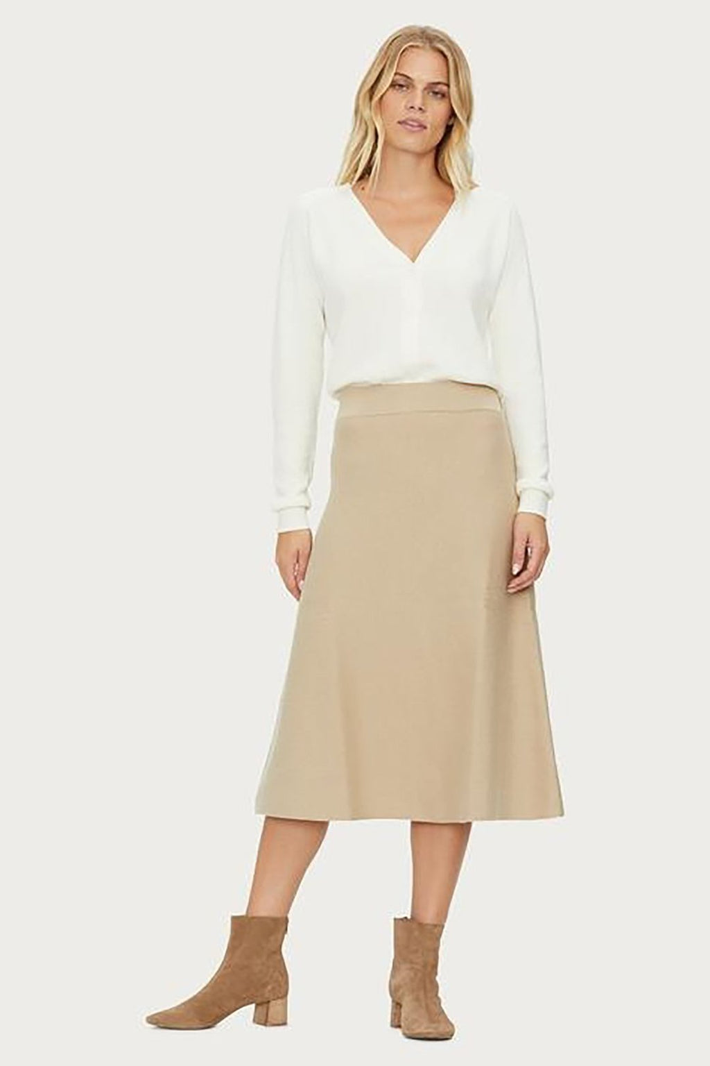 Natalie Reversible Midi Skirt