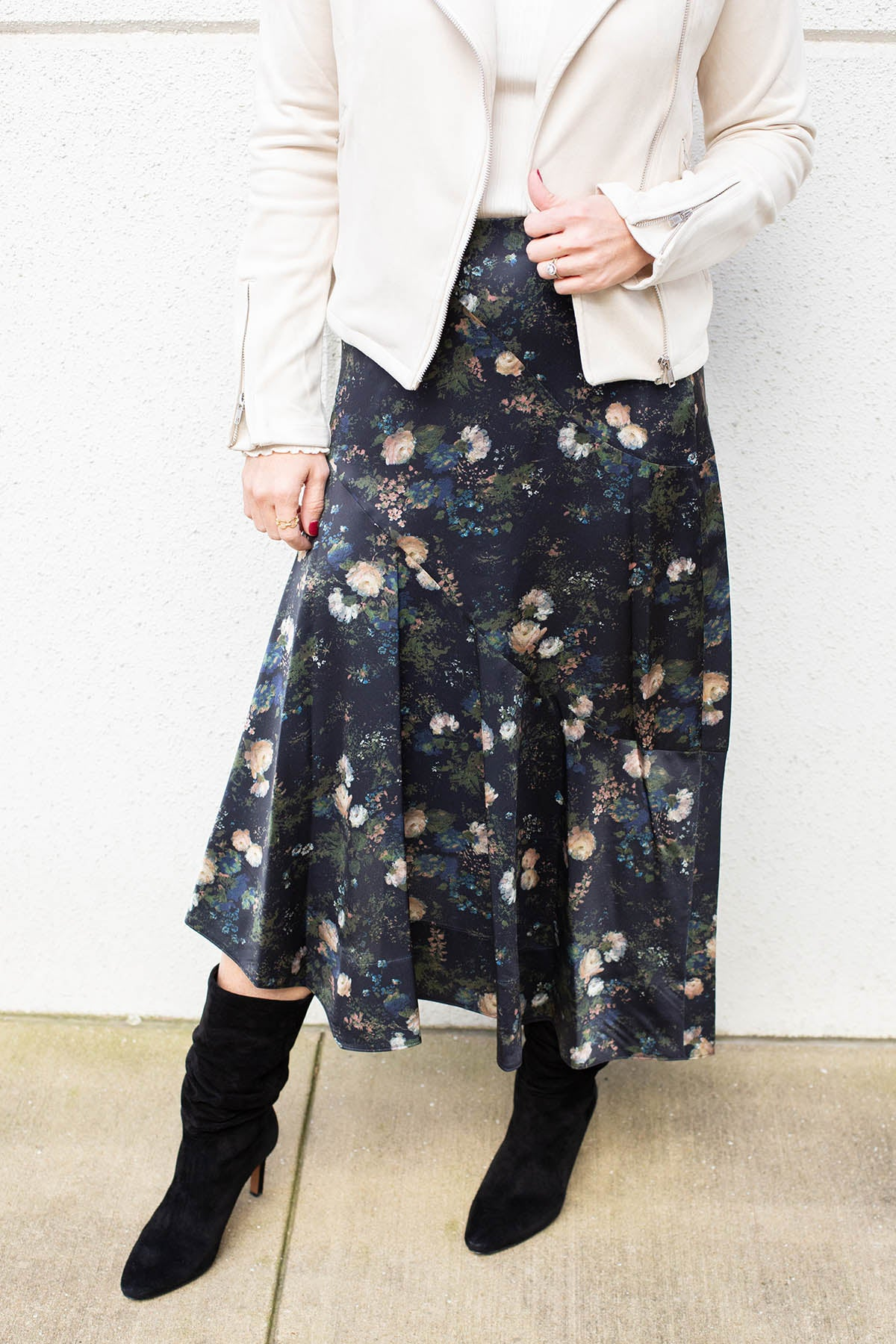 Rose Field Tiered Skirt