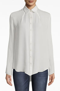Silk Boyfriend Blouse