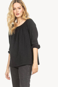 Button Swing Henley