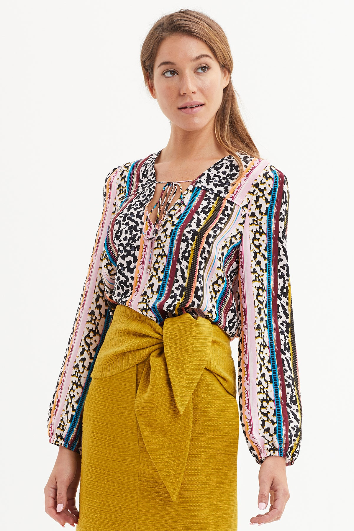 Phoebe Peasant Blouse