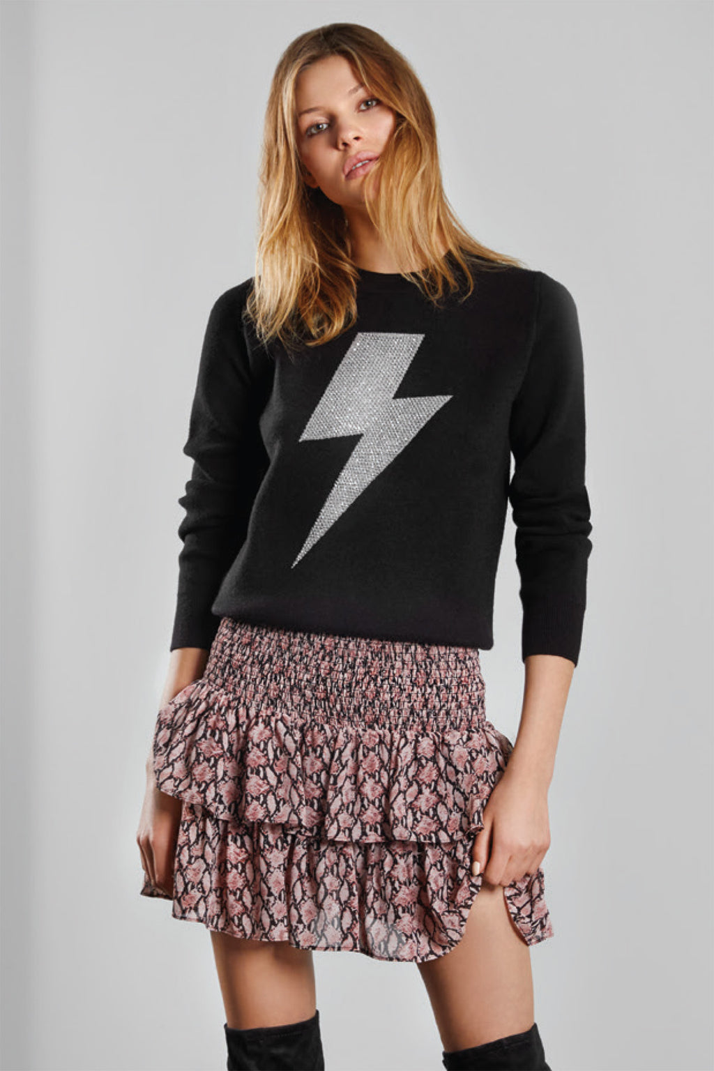 Lalique Lightning Crew Sweater