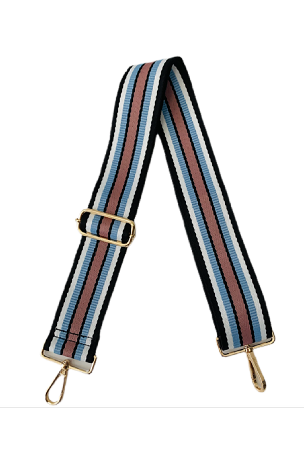 Multi Horizontal Stripe Bag Strap