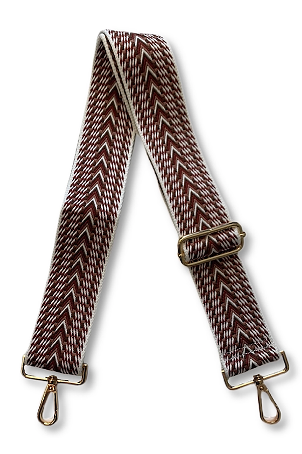 Embroidered Woven Bag Strap
