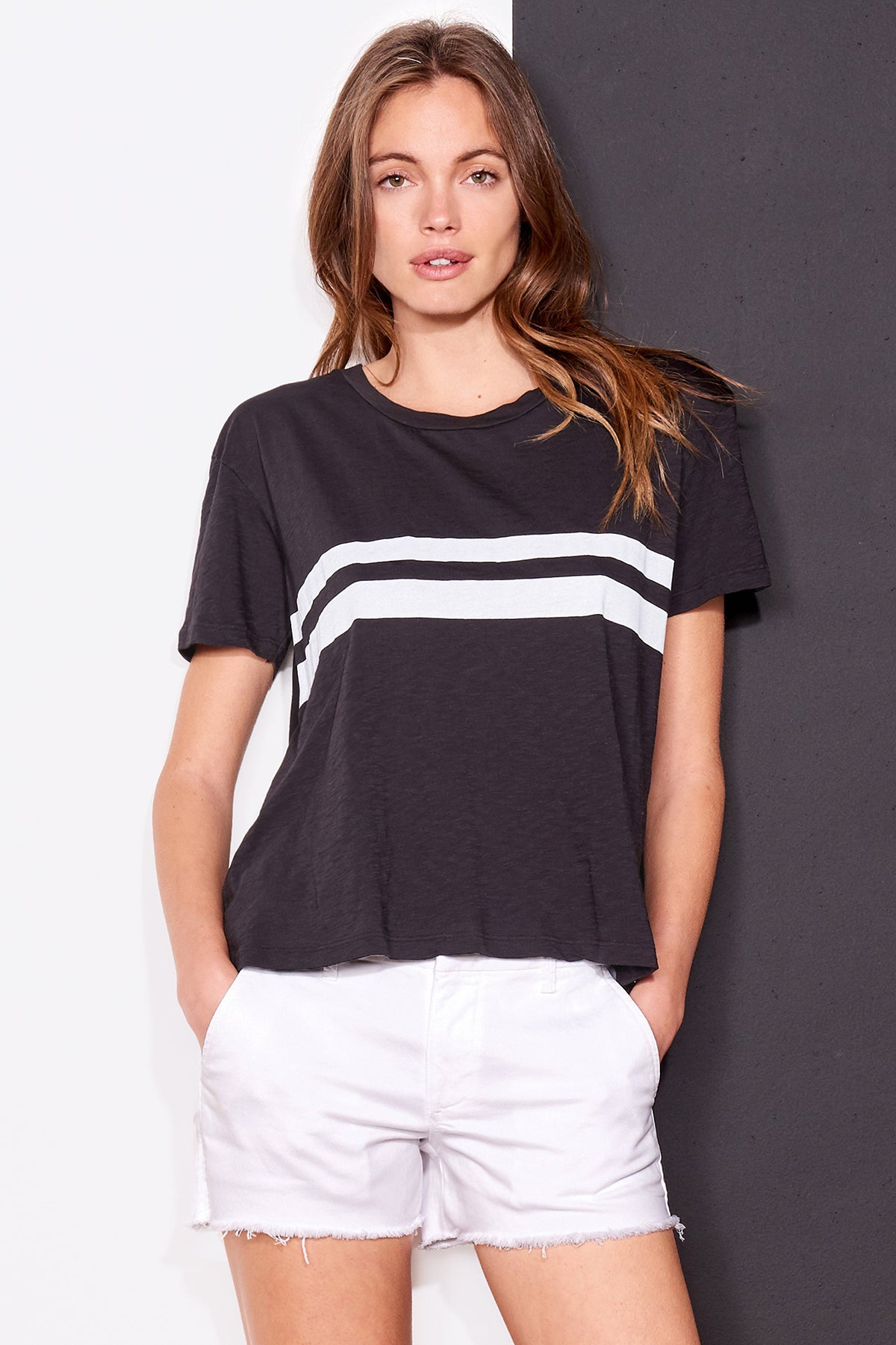 Vintage Tee Bold Stripes