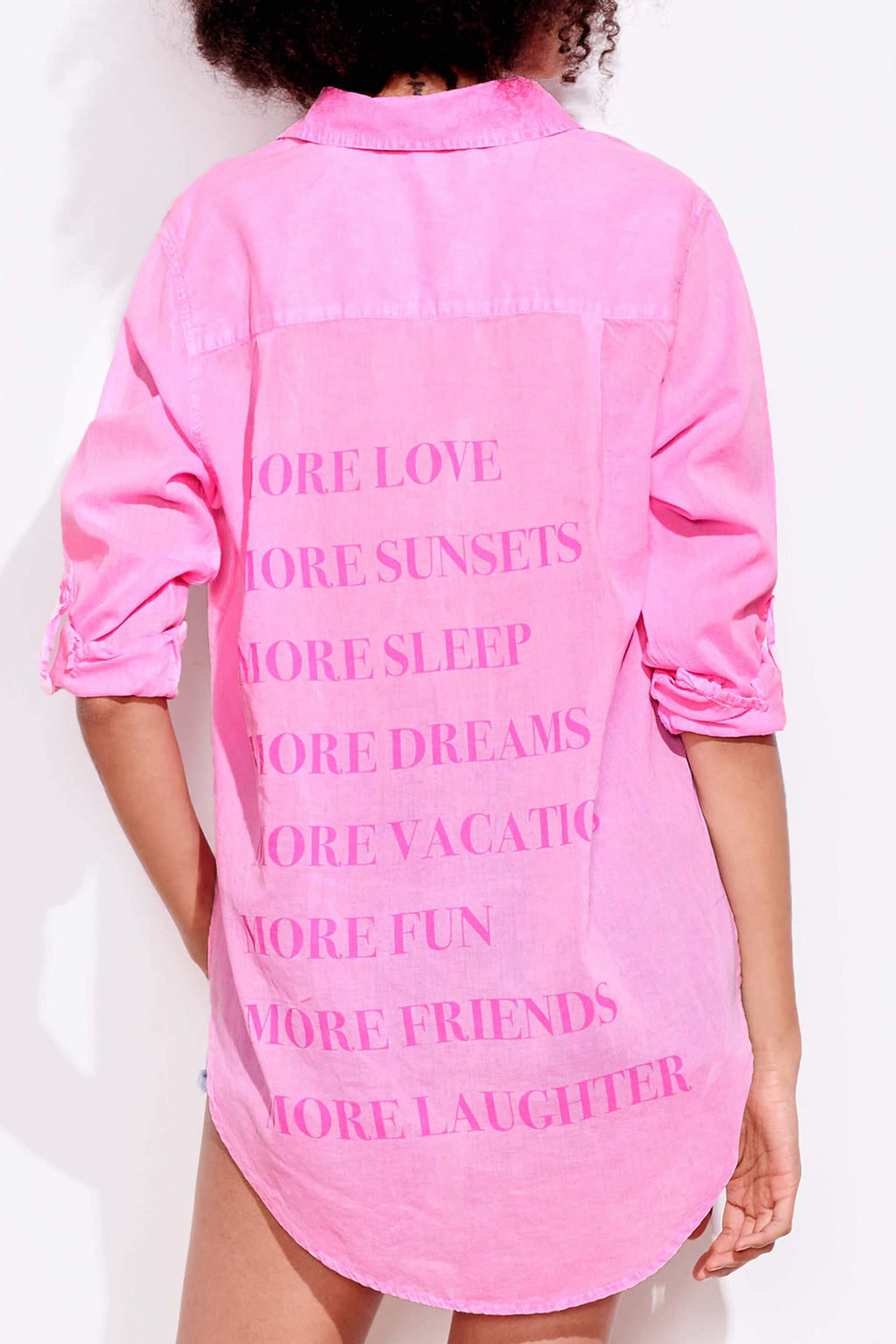 More Love Oversize Shirt