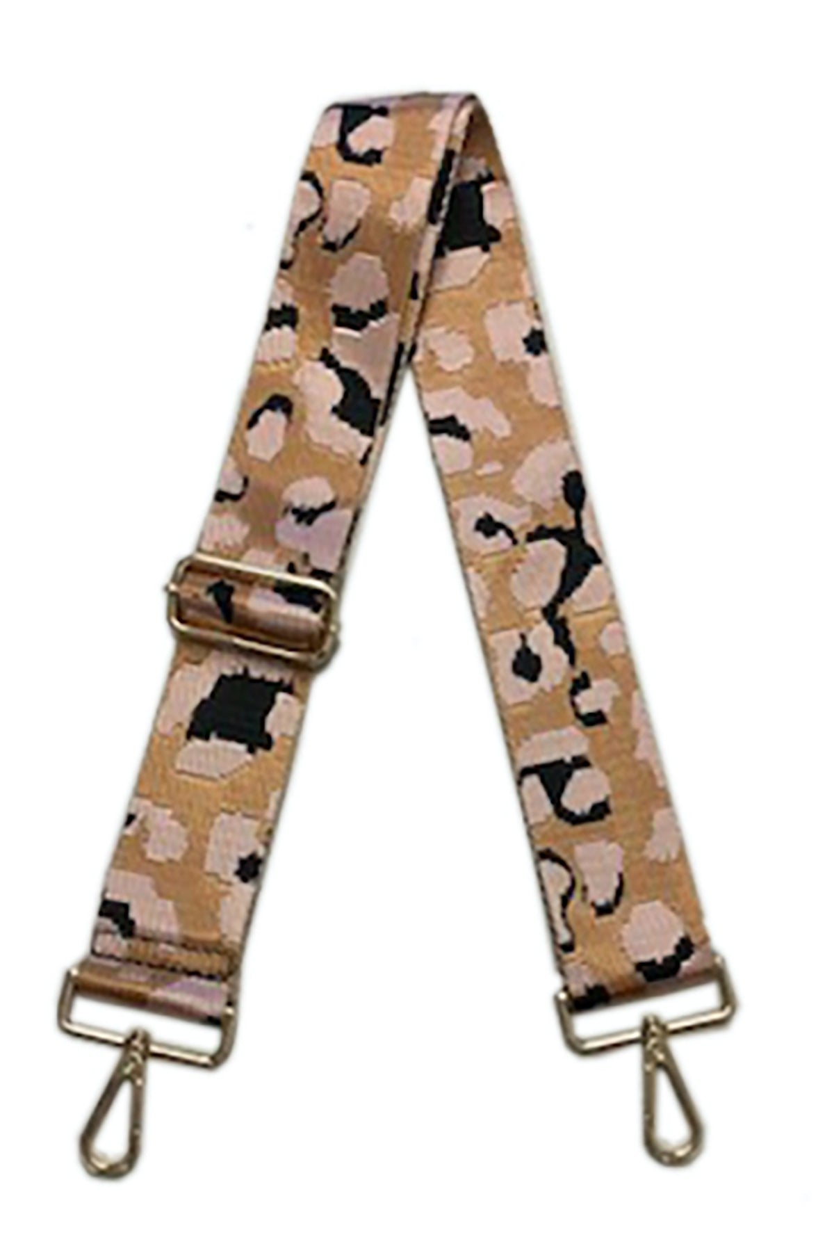 Blush Leopard Bag Strap