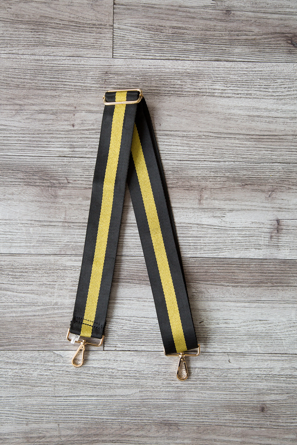 Metallic Stripe Strap