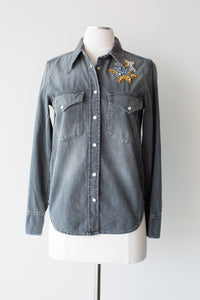Thelma Denim Top
