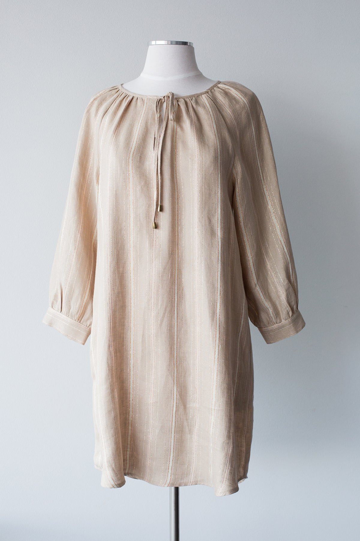Long Sleeve Peasant Dress