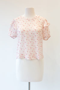 Ginger Puff Sleeve Top