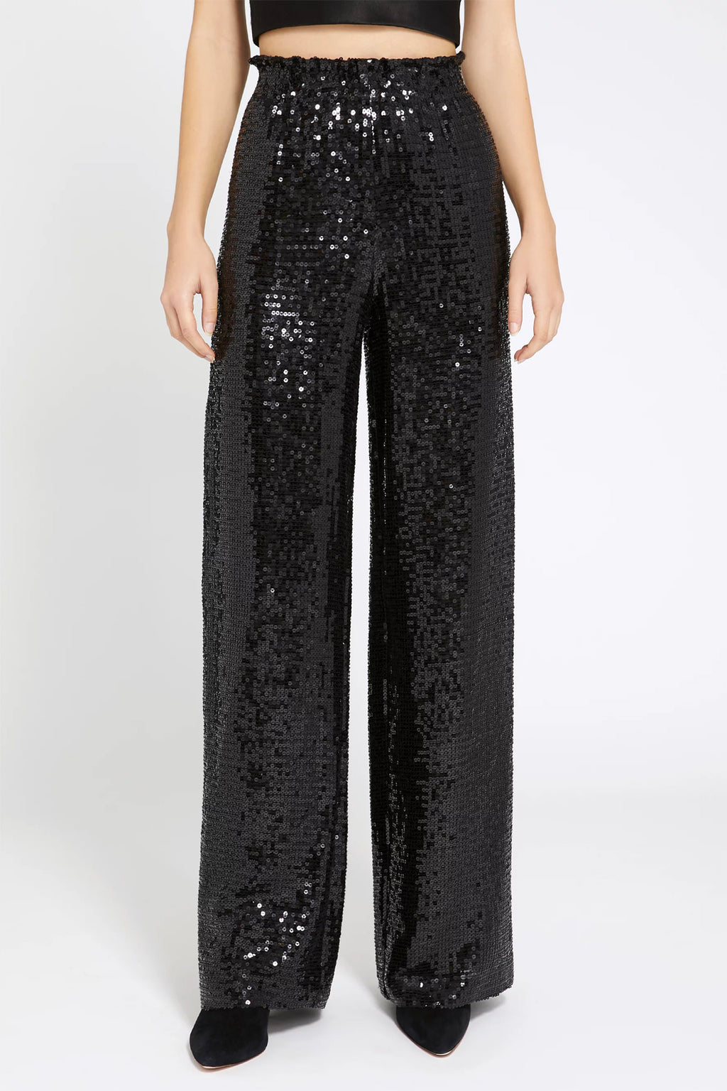 Elba Sequin Paper Bag Pant