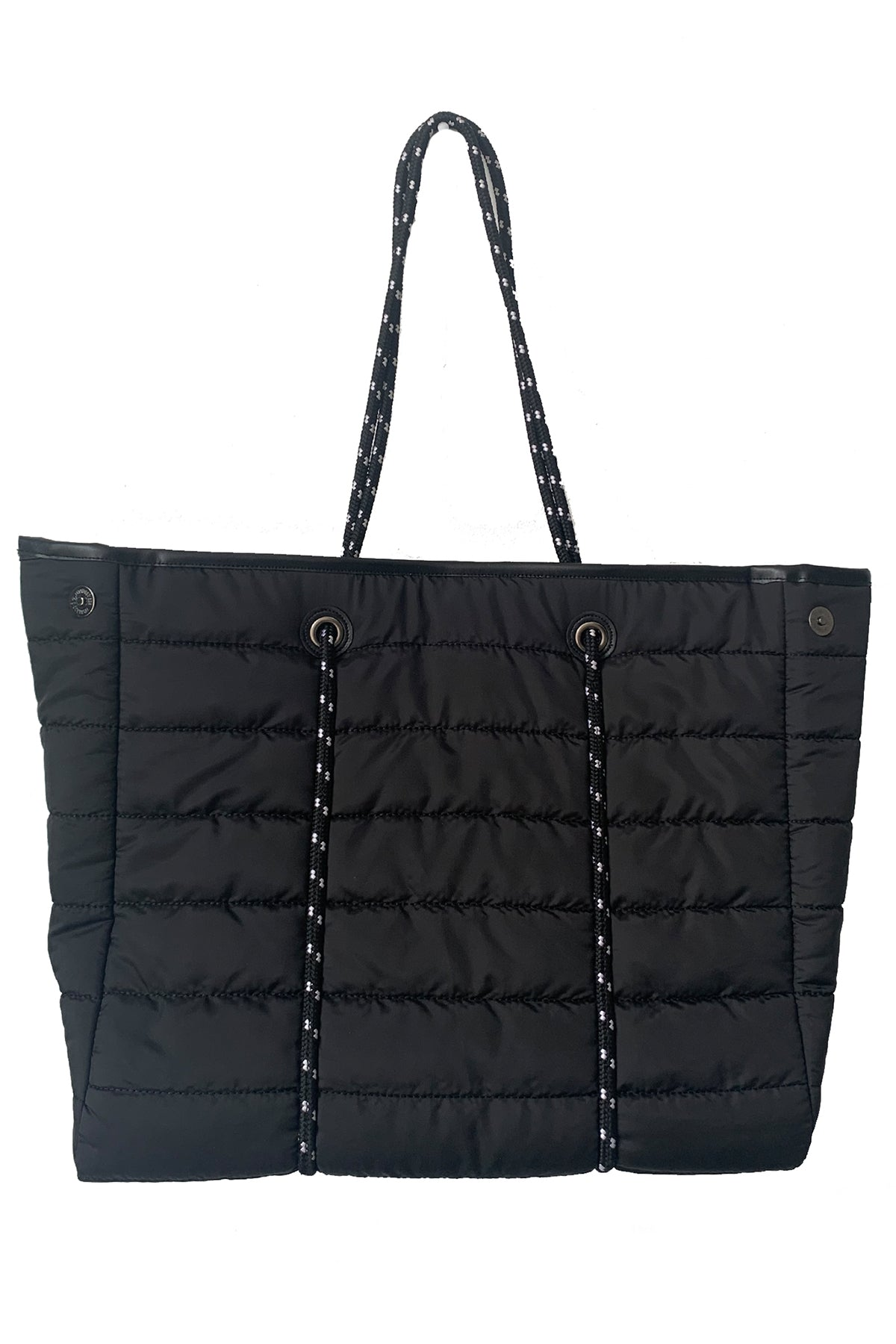 Puffy Tote With Rope