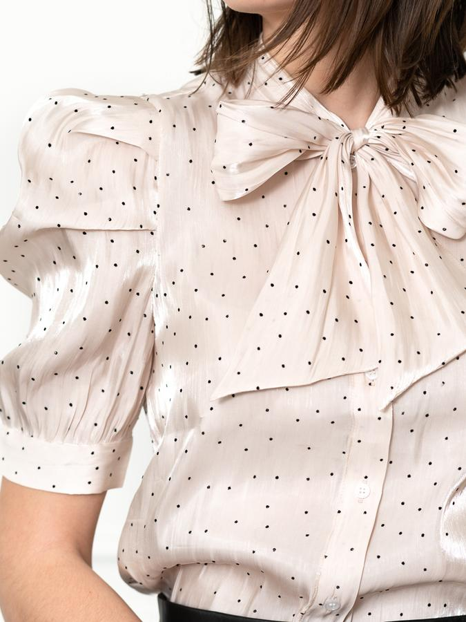 The French Girl Bow Shirt