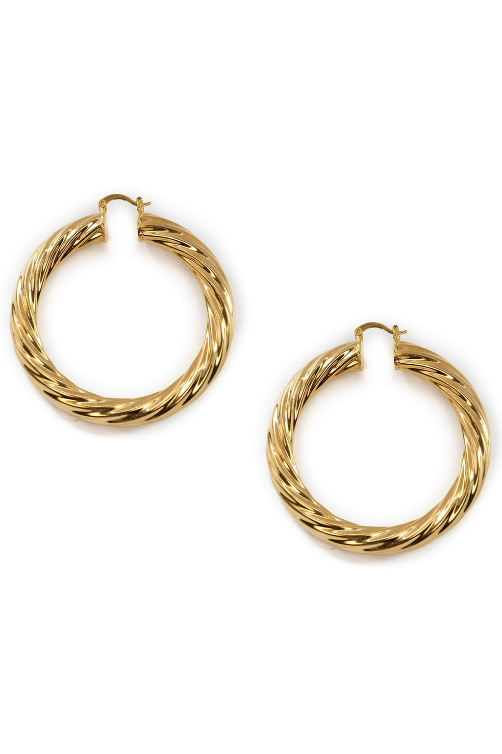 Milan Large Hoops