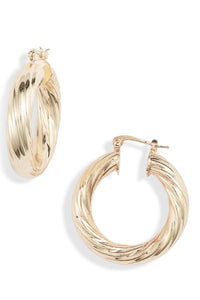 Milan Medium Hoops