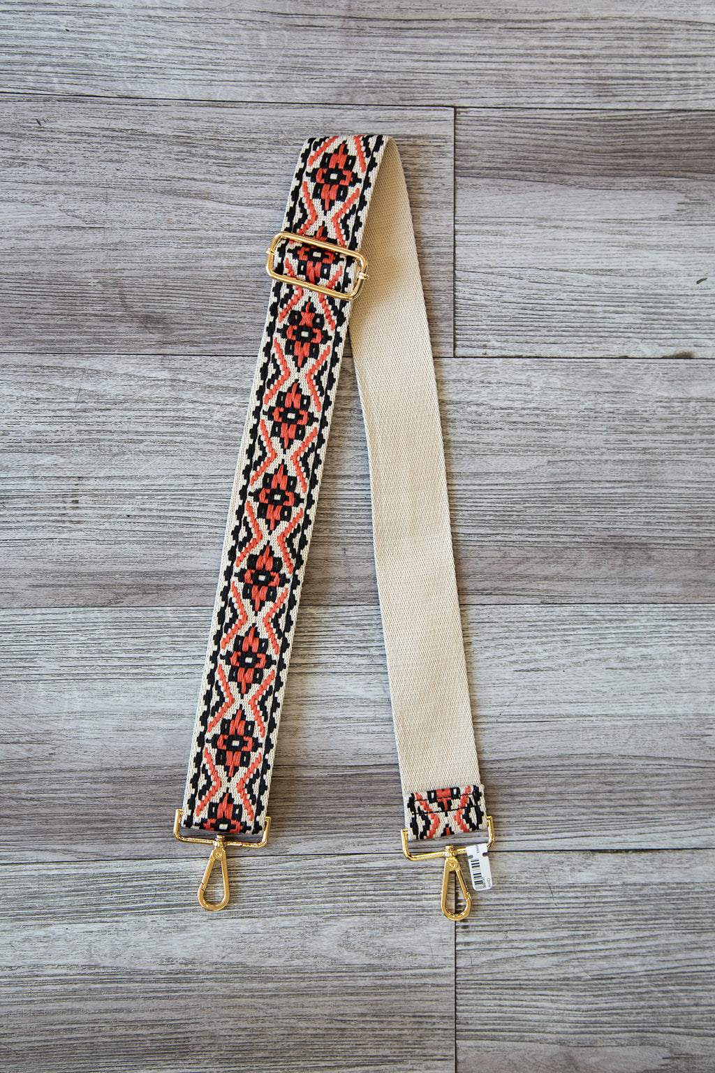 Embroidered Bag Strap
