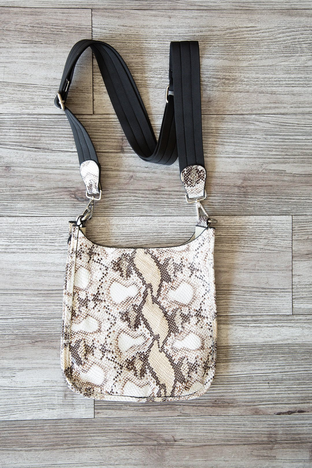 Leather Mini Crossbody with Strap