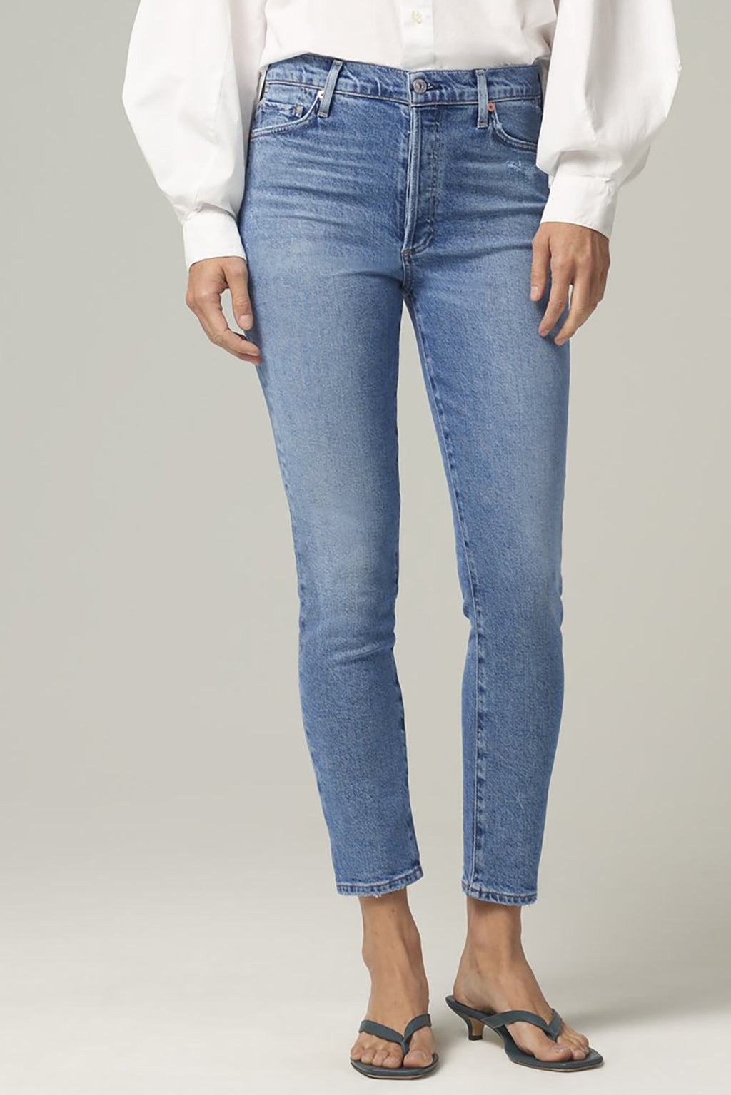 Olivia High Rise Slim Ankle