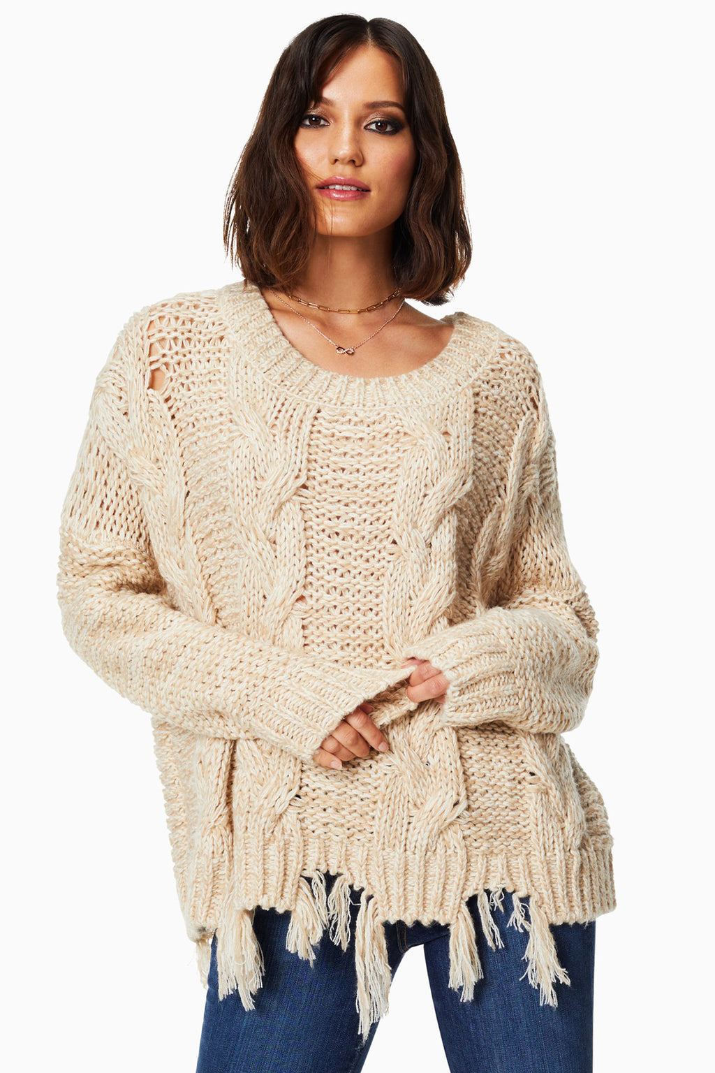 Blaine Fringe Sweater
