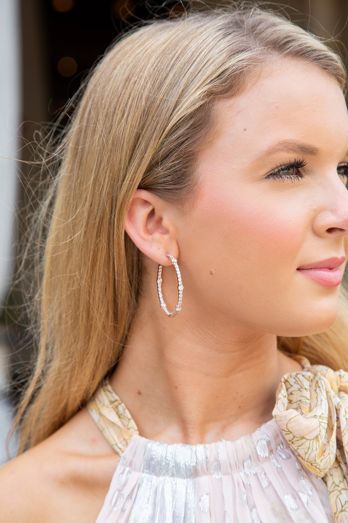 Wild Child Hoops Earrings