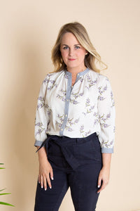 Jete Fleur Embroidered Top