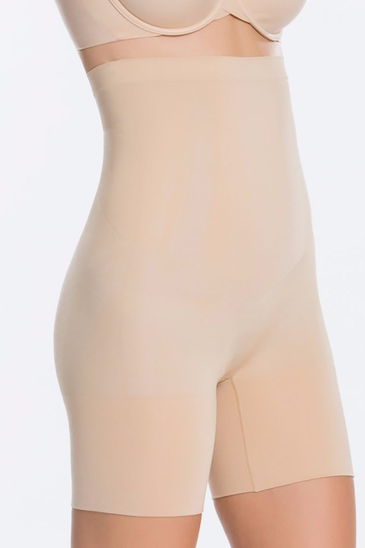 High-Waisted Mid-Thigh Short