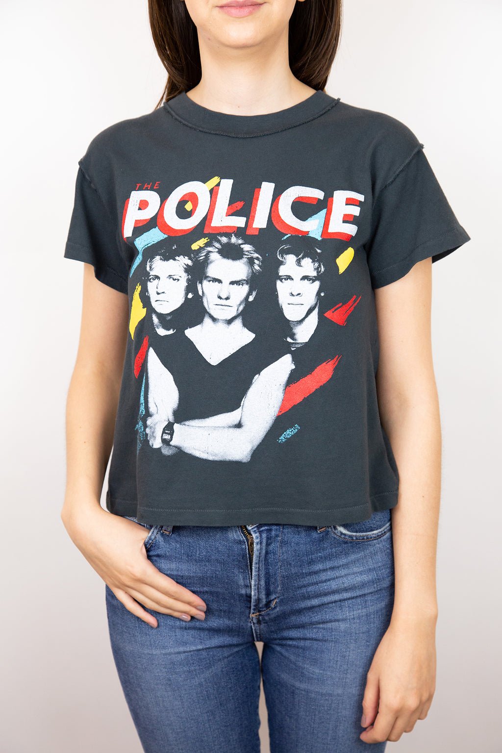 The Police Painted Tee
