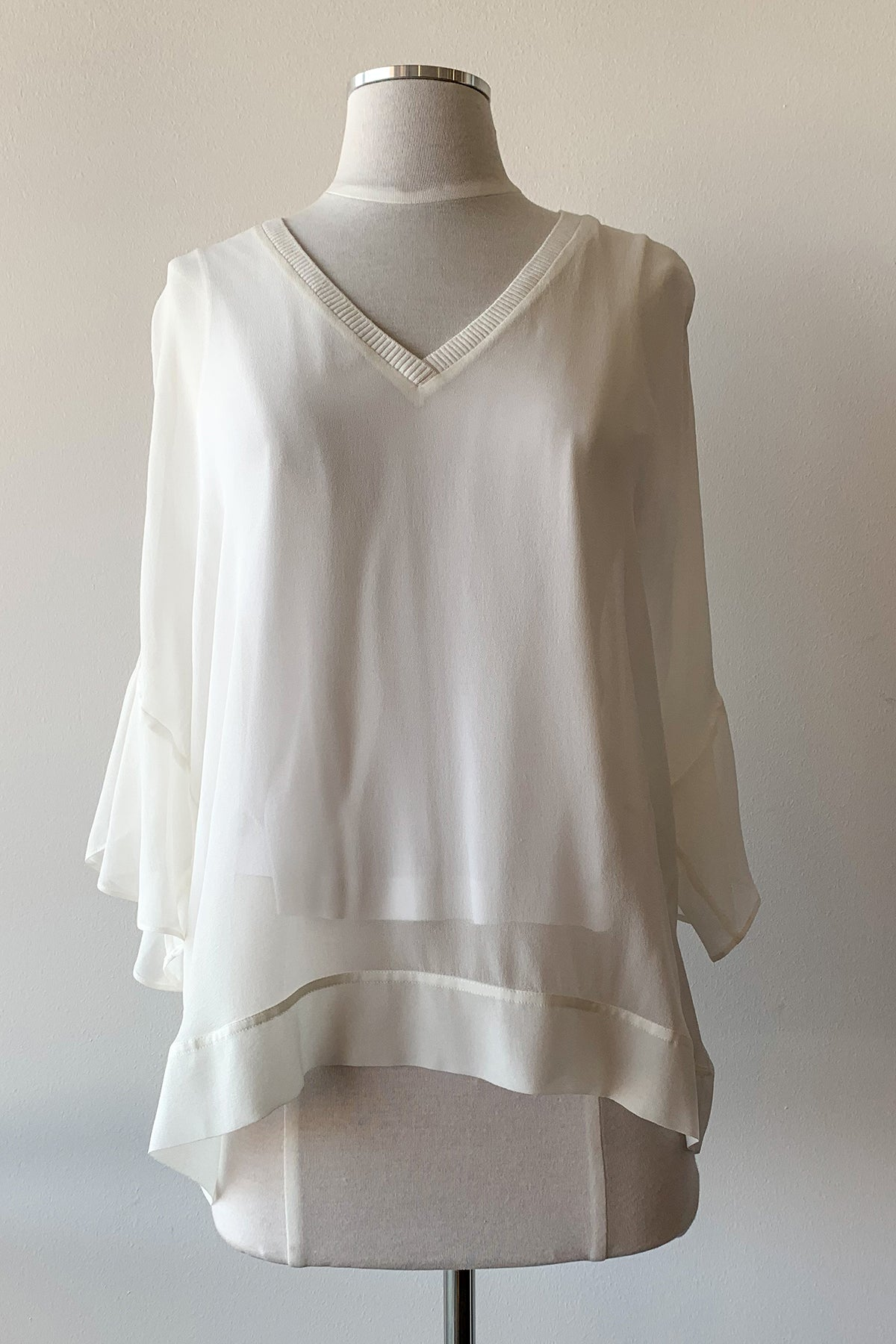 Go Sheer Romance Blouse