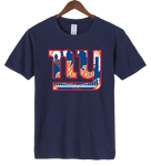 T-Shirt New-York Giants Mets navy