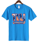 T-Shirt New-York Giants Mets bleu clair