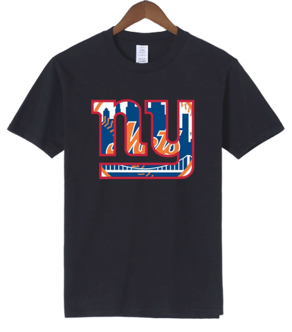 T-Shirt New-York Giants Mets noir