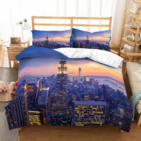 Housse de Couette Skyline New-York | Le Coin du New-Yorkais