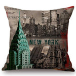 Housse de coussin New-York Chrysler Building | Le Coin du New-Yorkais