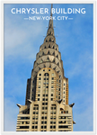 Cadre Blanc NYC Chrysler Building