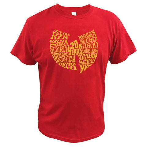 T-Shirt New-York Wu-Tang Clan 20 ans rouge